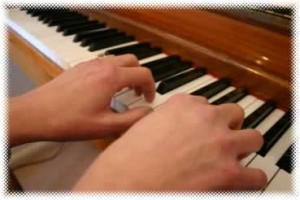 Correct hand position for pianists