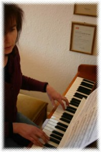home piano teaching