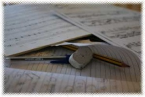 Piano lessons diary