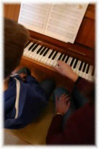 piano teaching at home